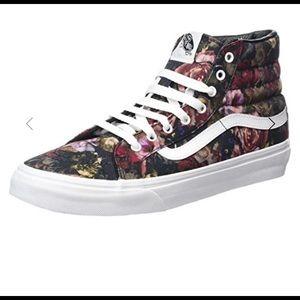 Vans SK8-Hi Slim Moody Floral Skate Shoes
